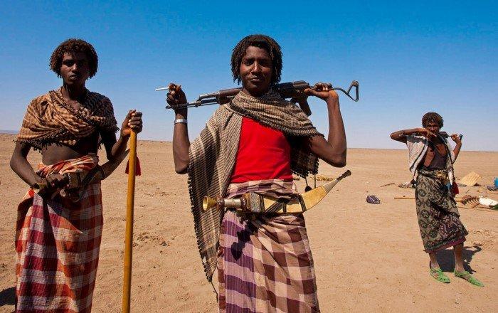 Кто живёт в самом опасном месте планеты – пустыне Данакиль?