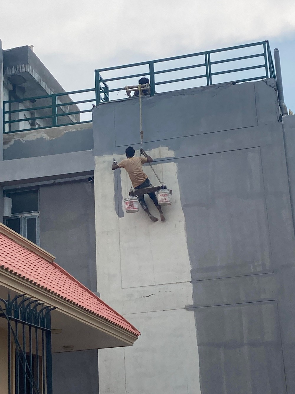 Они явно не слышали о технике безопасности