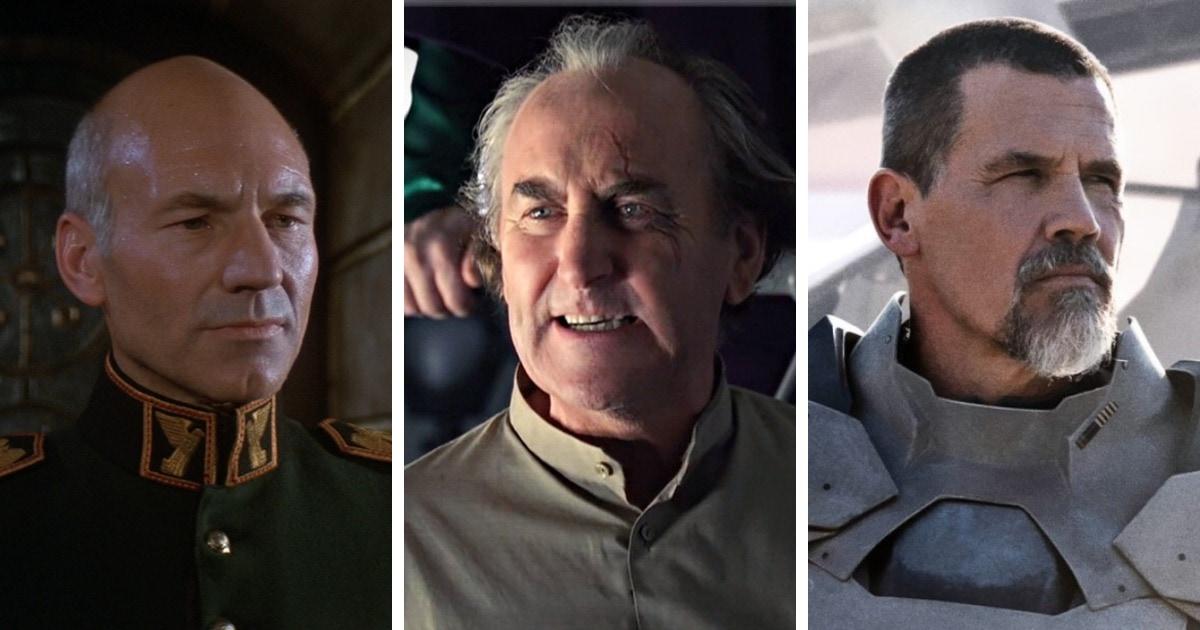 Персонажи Дюны в трёх разных экранизациях романа