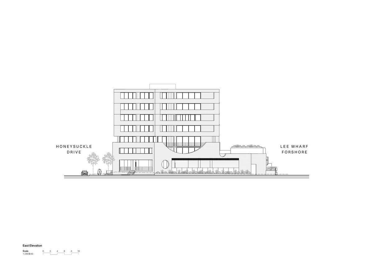 Жилой комплекс на набережной в развивающемся районе Ньюкасла