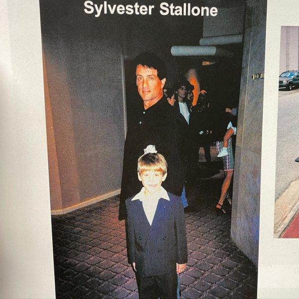 Роб Бирман в детстве успел перефотографироваться со многими знаменитостями