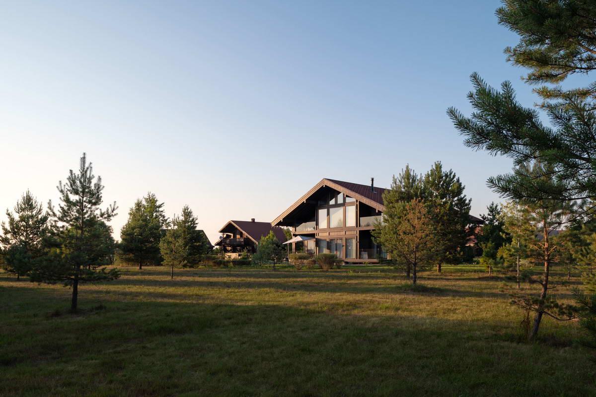 Загородный дом на берегу реки в Тверской области