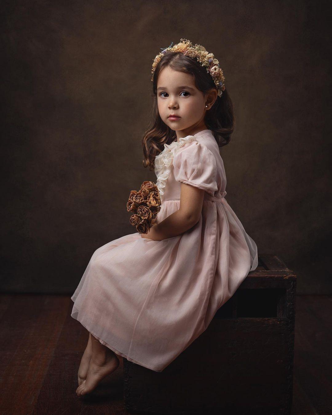 Красивые снимки детей от Марии дель Валле Прессер