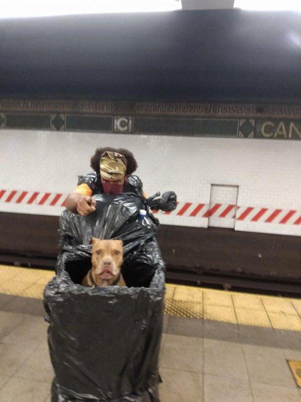 Необычные персонажи и ситуации в метро разных стран