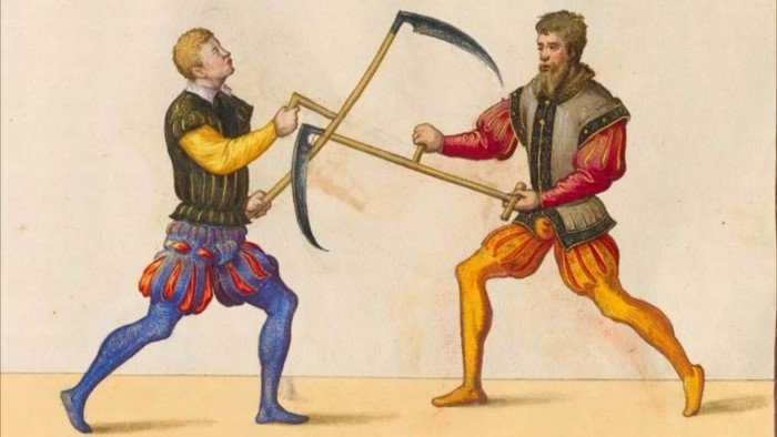 Три очень странных вида оружия Средних веков