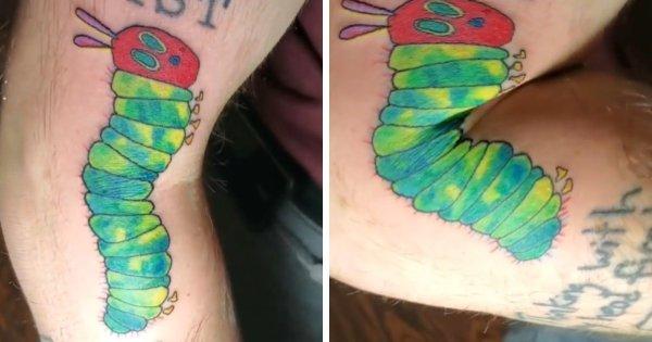 Примеры необычных подвижных татуировок-трансформеров