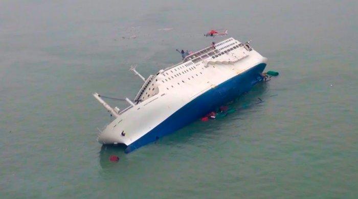 Четыре крупнейших кораблекрушения, произошедших в последние 20 лет