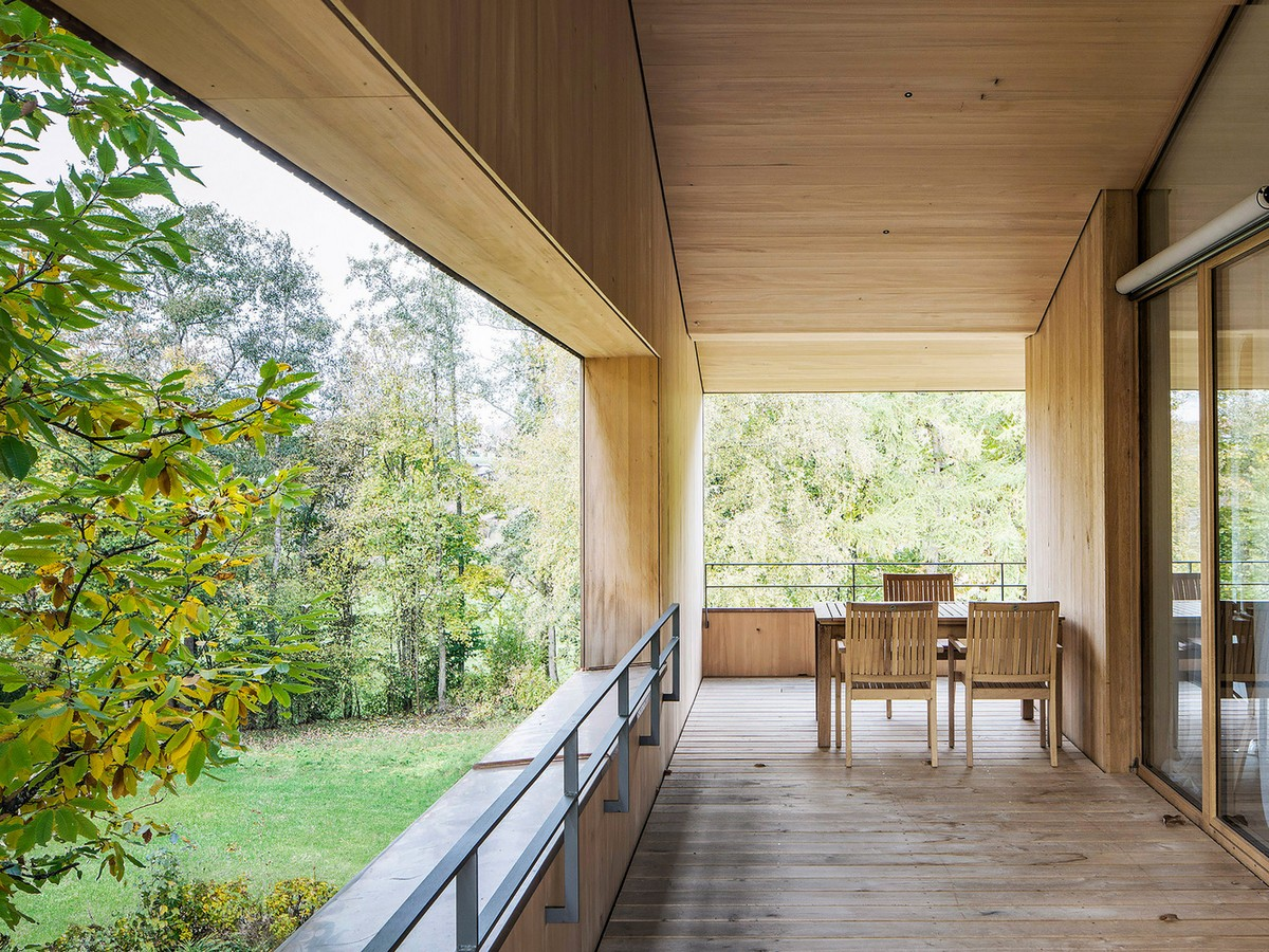 Экологичный трехуровневый дом в южной Германии