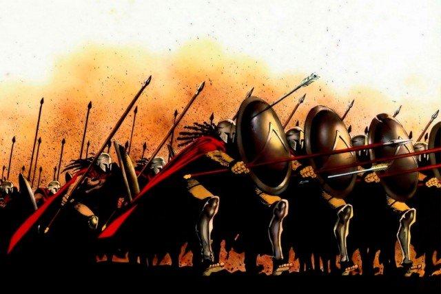 Почему царь Леонид взял с собой только 300 спартанцев?