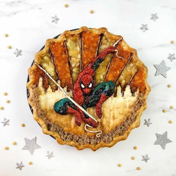 Вдохновлённые персонажами поп-культуры пироги от Джессики Ли Кларк-Божин