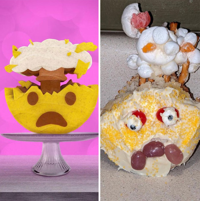 Они хотели испечь торт, но кондитерское искусство — это не их