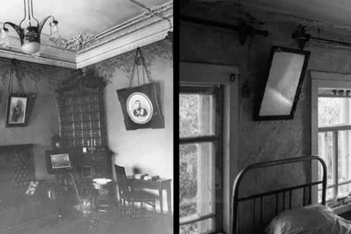 Почему в СССР зеркала, картины и фотографии вешали таким образом?