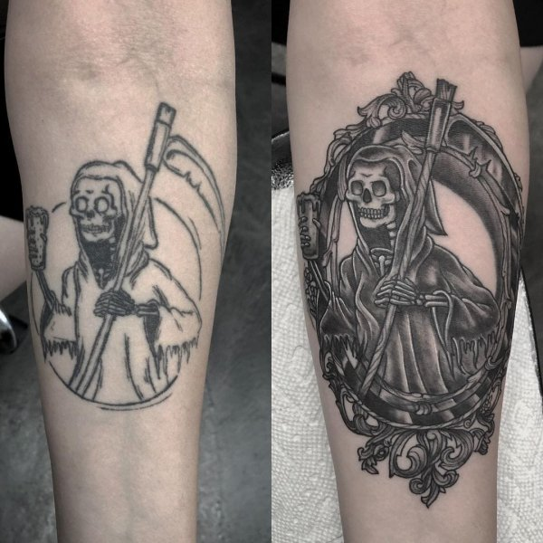Профессионалы подарили новую жизнь старым и неудачным татуировкам