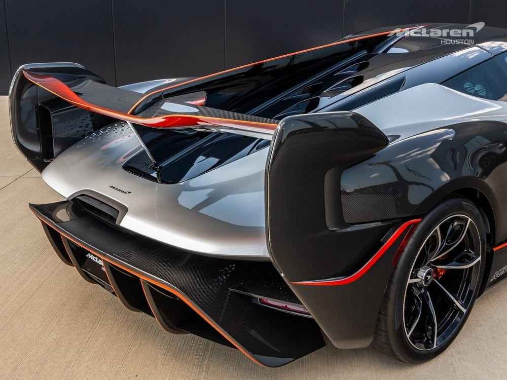 Мощный бензоэлектрический гиперкар McLaren MSO Sabre