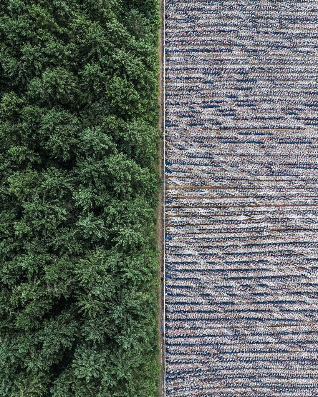 Впечатляющие аэрофотоснимки братьев-фотографов из Великобритании