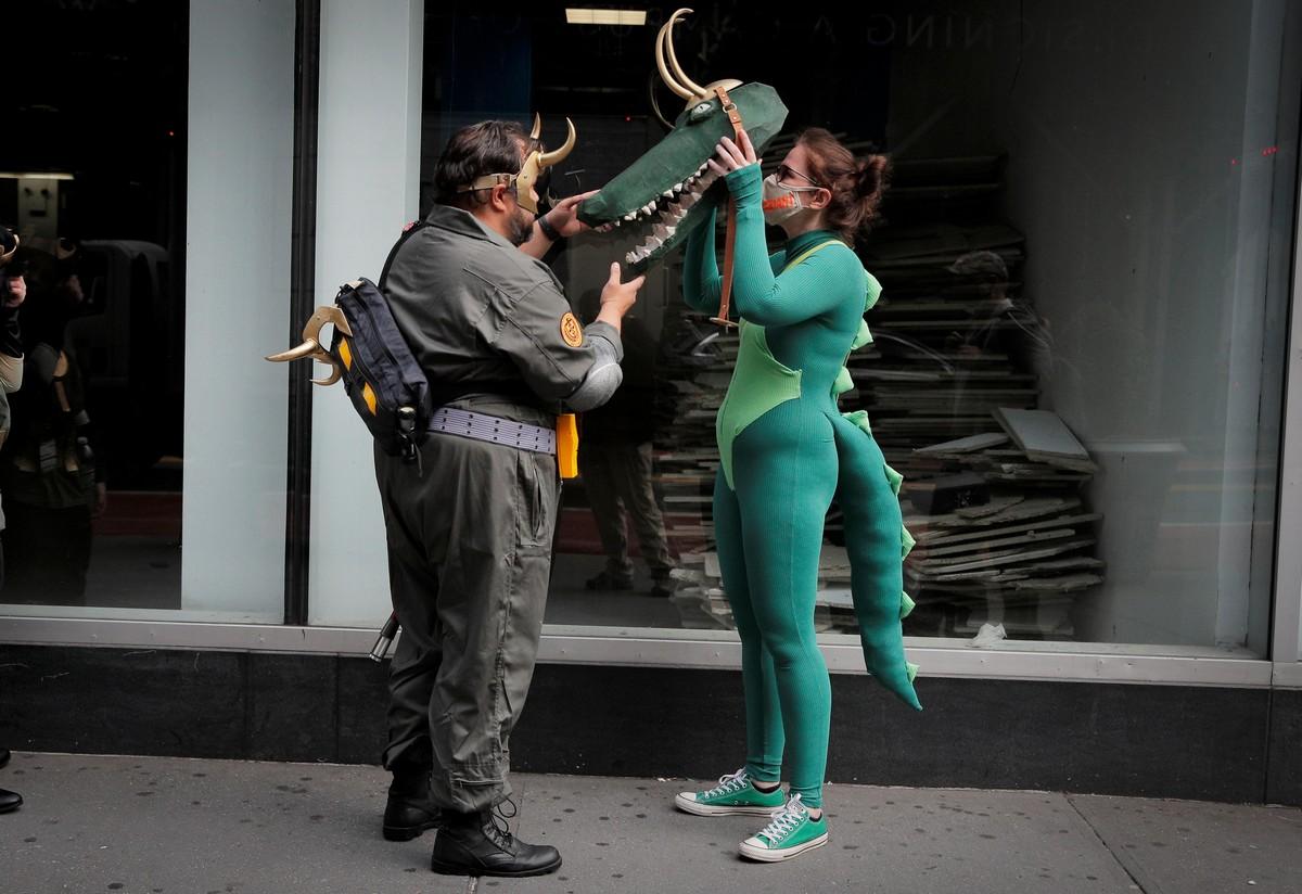 Comic Con 2021 проходил в Нью-Йорке
