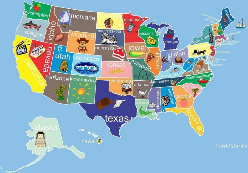 Интересные географические факты о США