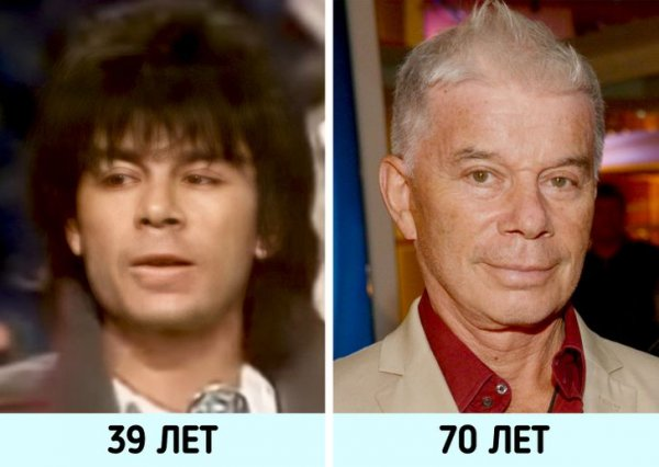 Отечественные знаменитости в молодости и сейчас