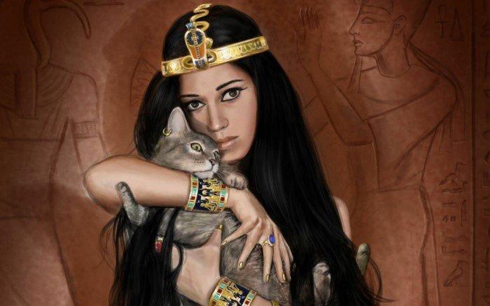 Прообраз Золушки из Древнего Египта, ставшей женой фараона