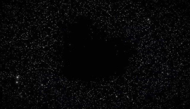 Самые пугающие места во Вселенной - космические пустоты